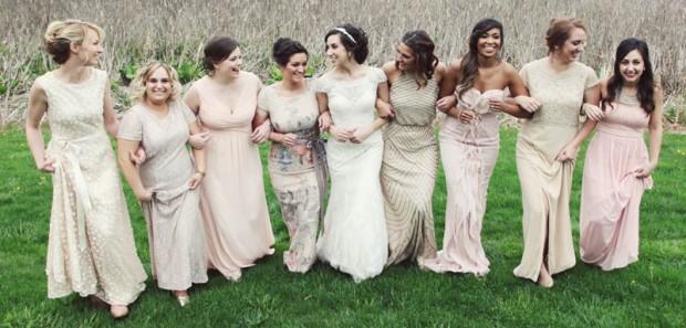 mismatched-bridesmaid-dresses-group