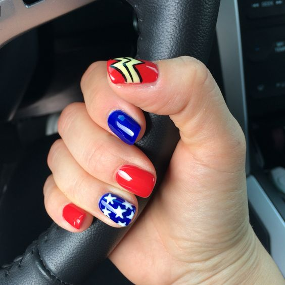 Nails Wonder Woman Can Nail Art Be Feminist: 7 Ways To Embrace Your Inner Wonder Woman