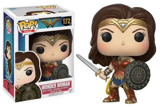Wonder Woman Pop Vinyl