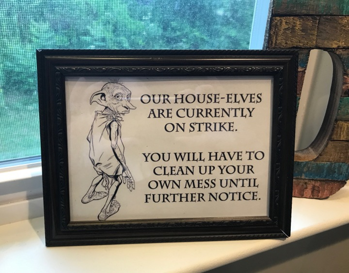 house-elves-on-strike-sign