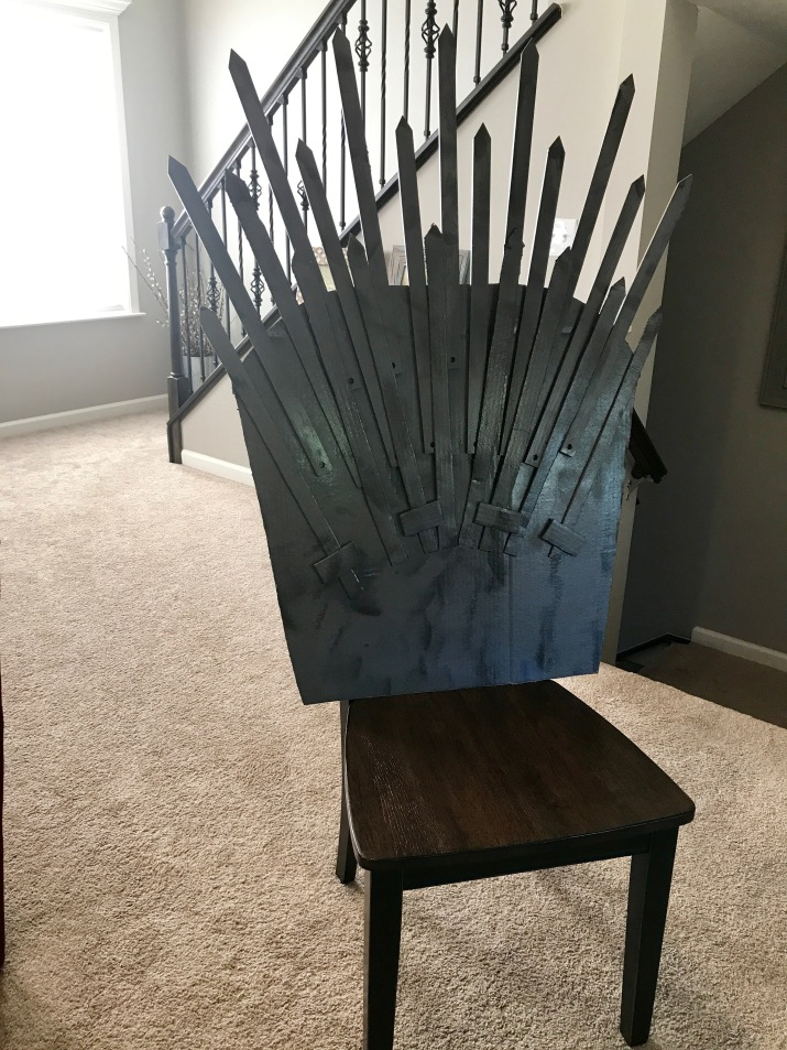 Make Your Own Iron Throne for Under $25 - Popcorner