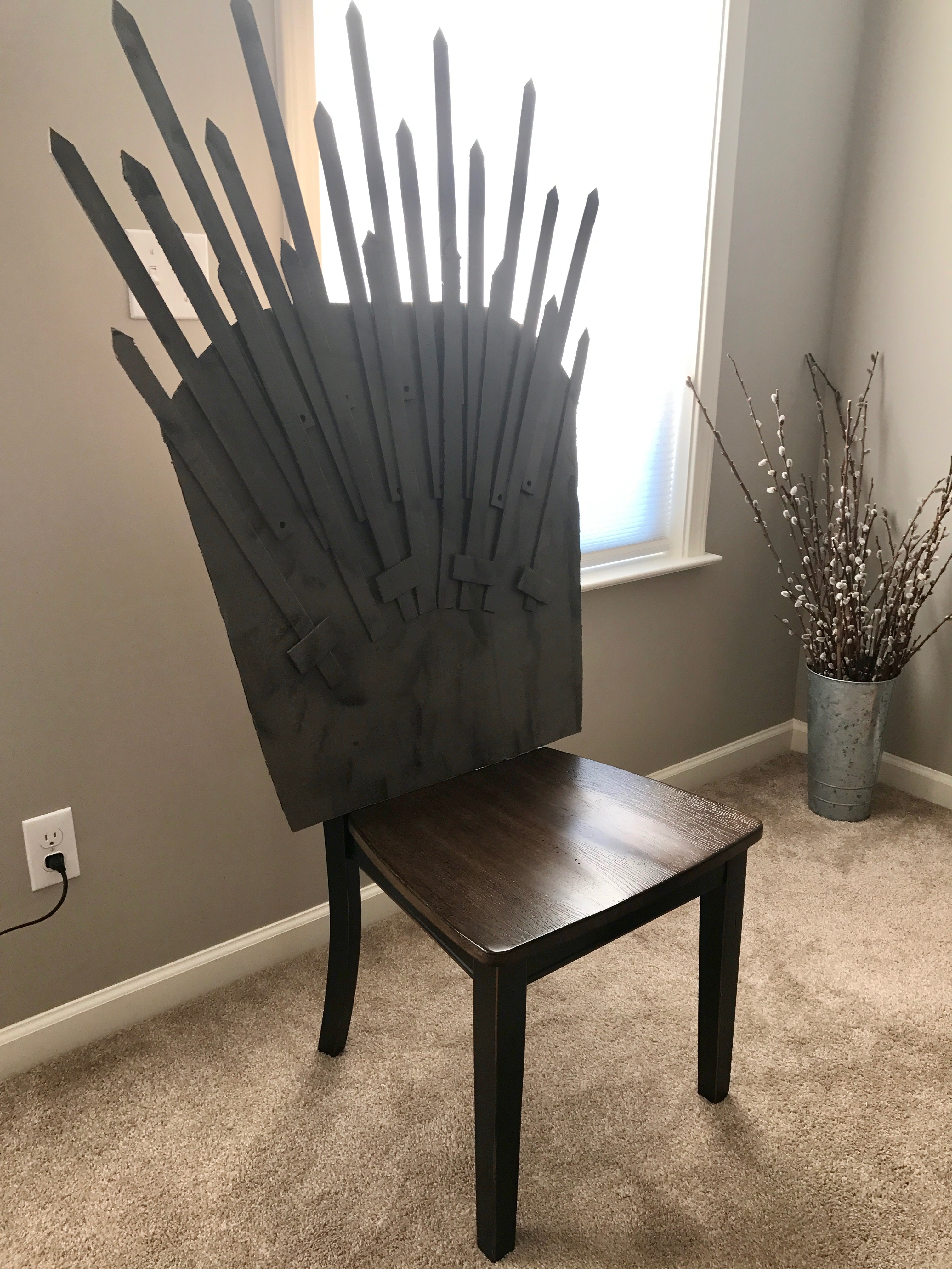 Iron Throne Office Chair Throneofswords2 Zoom In