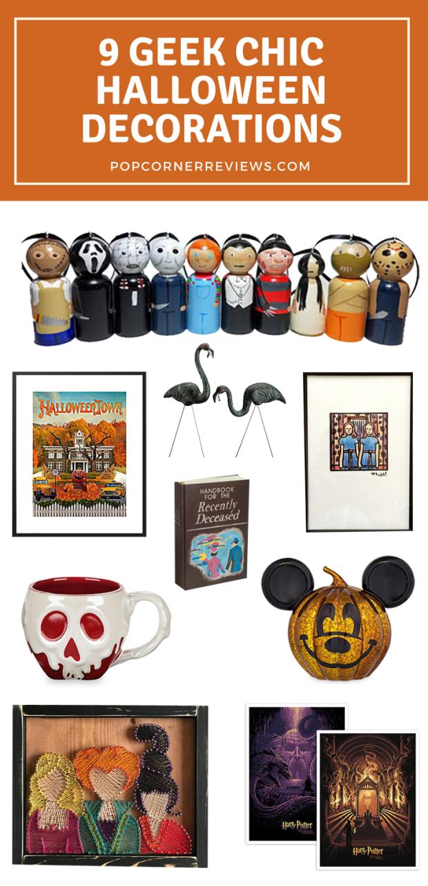 9 Geek Chic Halloween Decorations