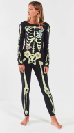 Skeleton Body Suit - Urban Outfitters