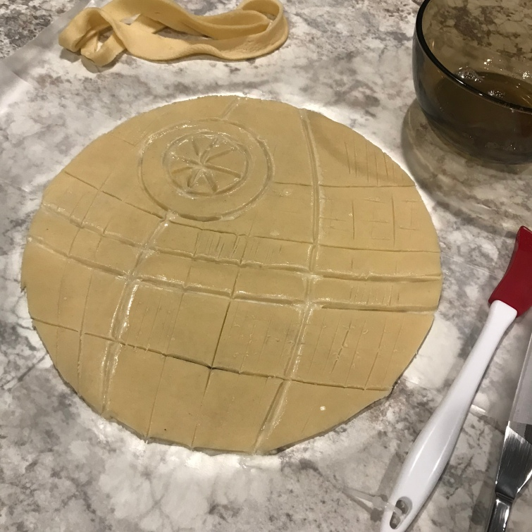 death star pie tutorial 4