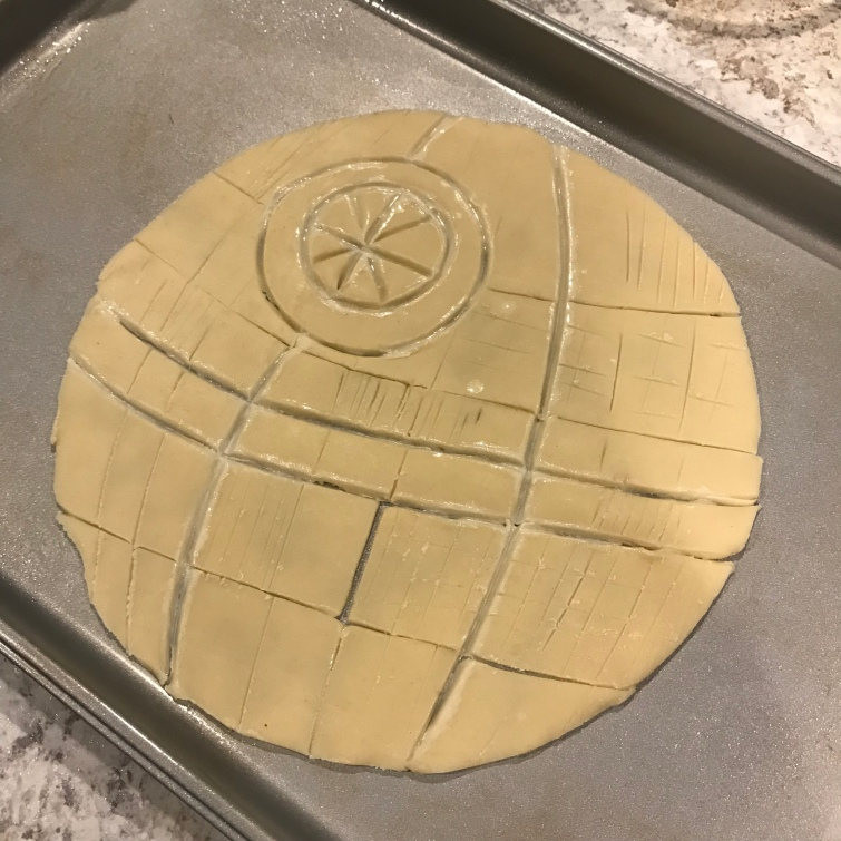 death star pie tutorial 6