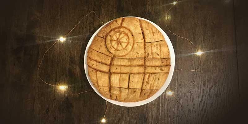 That S No Moon It S A Death Star Pie Popcorner