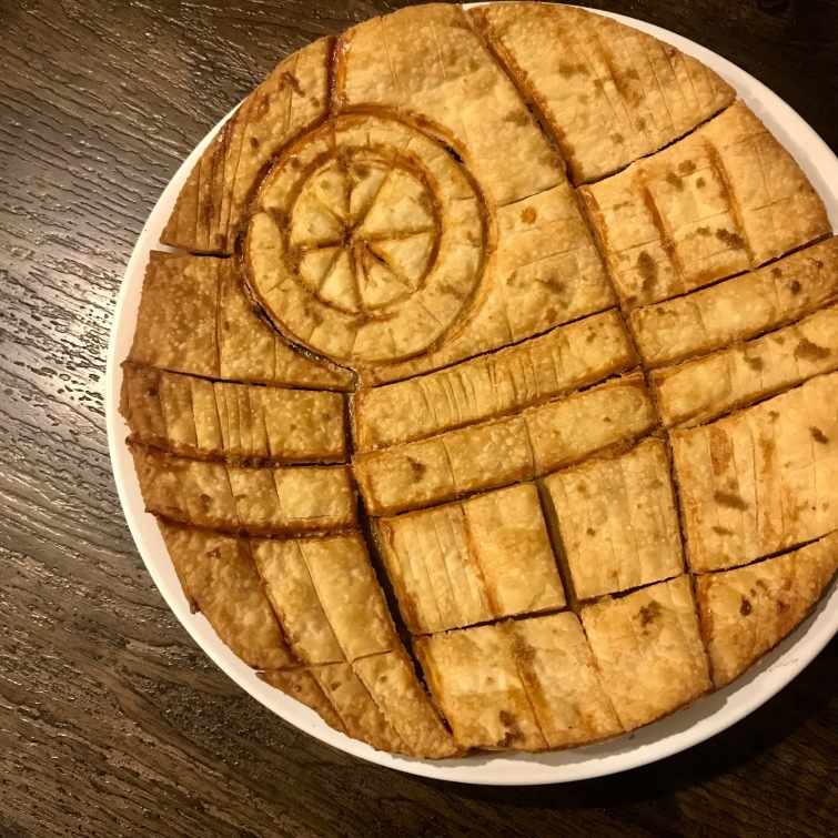 death star star wars pie crust