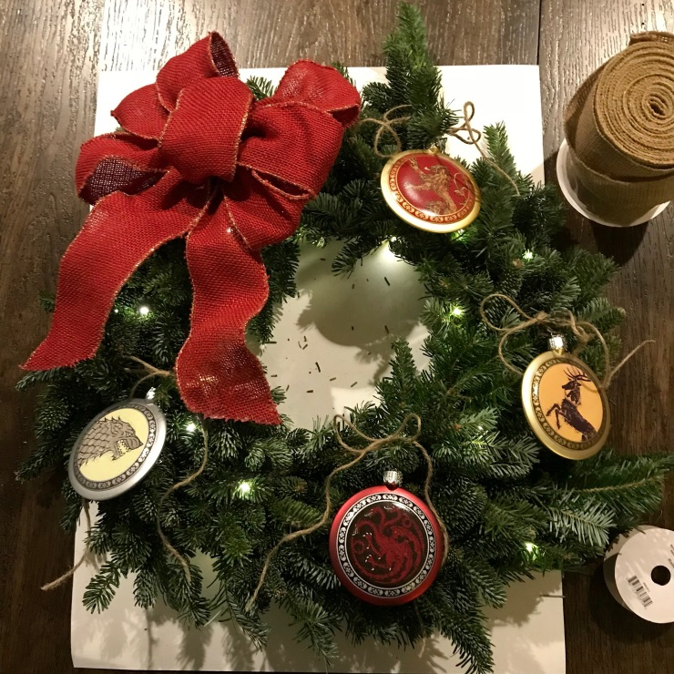 Game of Thrones Christmas Wreath