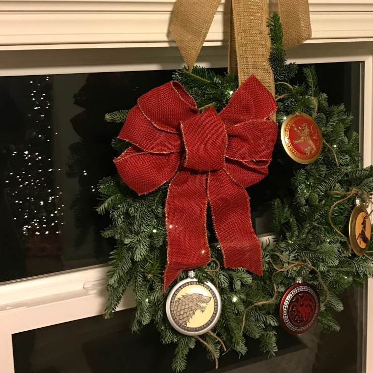 Game of Thrones Wreath