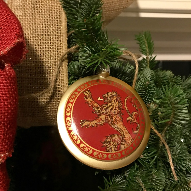 House Lannister Christmas Ornament BoxLunch