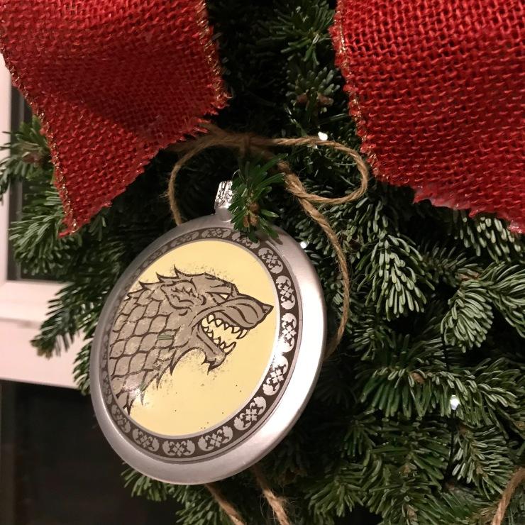House Stark Christmas Ornament BoxLunch