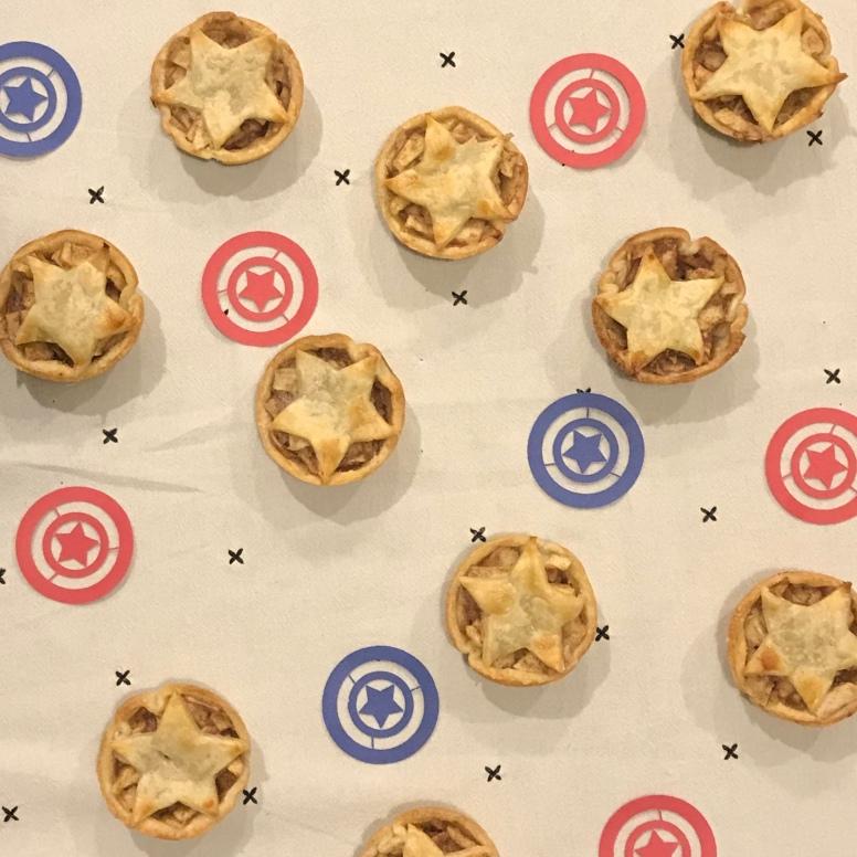 Captain America Marvel Apple Pie